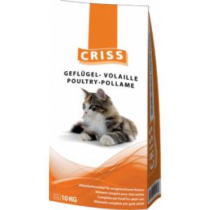 CRISS сухой корм для котов с домашней птицей 10 кг