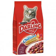 Darling (Дарлинг) сухой корм для котов с мясом и овощами 2кг
