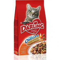 Darling (Дарлинг) сухой корм для котов с птицей и овощами 2кг