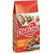 Darling (Дарлинг) сухой корм для собак с курицей и овощами 3кг