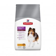Hill's SP Adult Sensitive Stomach & Skin для собак с чувствительным пищеварением и кожей 12 кг