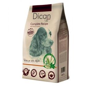 Dican Up Complete Recipe сухой корм для взрослых собак больших и средних пород с индейкой 4 кг