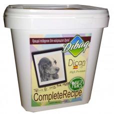 Dican Up Complete Recipe сухой корм для взрослых собак больших и средних пород с индейкой 5 кг