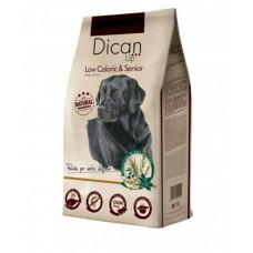 Dican Up Low Caloric сухой корм для пристарелых собак и взрослых собак с малой активностью 4 кг