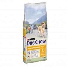 Dog Chow Complet сухой корм для взрослых собак с курицей 14 кг