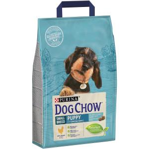 Dog Chow Puppy сухой корм для щенков мелких пород с курицей 7,5 кг
