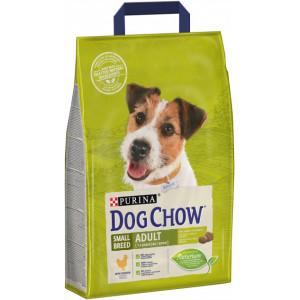 Dog Chow сухой корм для взрослых собак мелких пород с курицей 7,5 кг