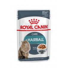 Royal Canin hairball care вологий корм для котів від 1 року для від освіти волосяних грудочок 0,085 кг.