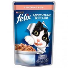 Felix (Феликс) консервы для котов с лососем 100г