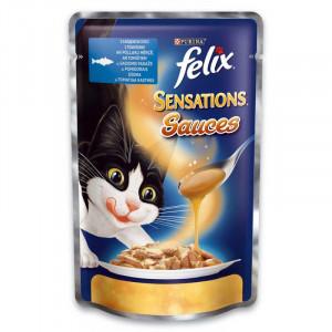 Felix (Феликс) консервы для котов с сайдой и томатами 100г