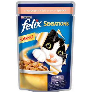 Felix (Феликс) консервы для котов с треской 100г