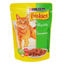 Friskies (Фрискис) консервы для котов с кроликом 100г