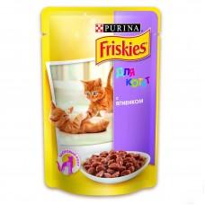 Friskies Junior (Фрискис Юниор) консервы для котят с ягненком 100г