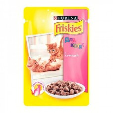 Friskies (Фрискис) консервы для котов с курицей 100 г