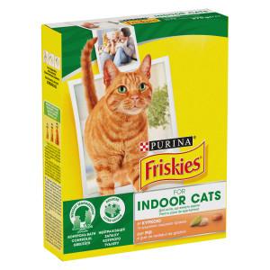 Friskies Indoor (Фрискис Индор) сухой корм для домашних котов 0,270 кг