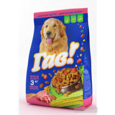 Гав сухой корм для собак мясное ассорти 3 кг
