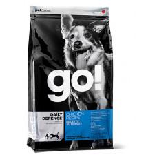 GO! сухой корм для щенков и взрослых собак со свежей курицей, фруктами и овощами 11,34 кг