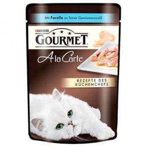 Gourmet A la Carte консервы для котов с форелью 85г