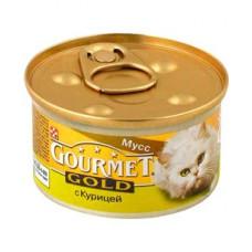 Gourmet Gold (Гурме Голд) консервы для котов с курицей 85г