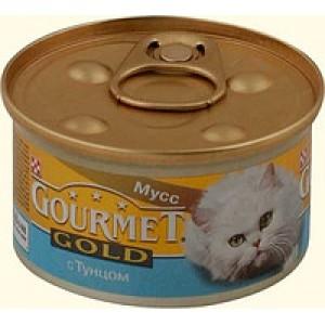 Gourmet Gold (Гурме Голд) консервы для котов с тунцом 85г