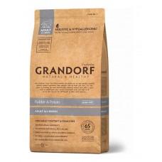 Grandorf Rabbit & Potato All Breeds сухой корм для взрослых собак всех пород с кроликом и бататом 3 кг