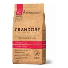 Grandorf Adult Medium Breed сухой корм для взрослых собак средних пород с ягненком и бурым рисом 1 кг