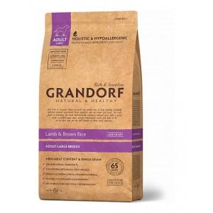 Grandorf Adult Large Breed сухой корм для взрослых собак крупных пород с ягненком и бурым рисом 3 кг