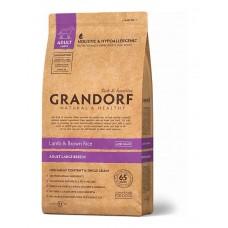 Grandorf Adult Large Breed сухой корм для взрослых собак крупных пород с ягненком и бурым рисом 12 кг