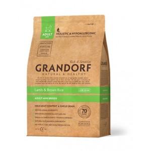 Grandorf Lamb & Rice Mini сухой корм для взрослых собак мини пород с ягненком и бурым рисом 1 кг