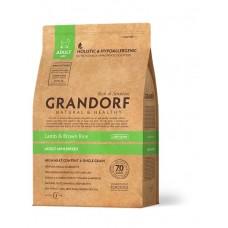 Grandorf Lamb & Rice Mini сухой корм для взрослых собак мини пород с ягненком и бурым рисом 3 кг