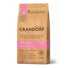 Grandorf Puppy сухой корм для щенков мелких и средних пород с ягненком и бурым рисом 1 кг