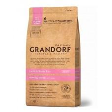 Grandorf Puppy сухой корм для щенков мелких и средних пород с ягненком и бурым рисом 3 кг