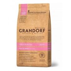 Grandorf Puppy сухой корм для щенков мелких и средних пород с ягненком и бурым рисом 12 кг
