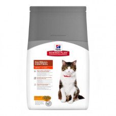 Hills SP Feline Adult Hairball Control лечебный корм для кошек от комков шерсти в ЖКТ с курицей 0,3 кг