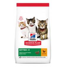 Hills SP Kitten Healthy Development сухой кормдля поддержания иммунитета и здоровья пищеварения у котят с курицей 3 кг