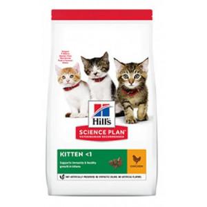 Hills SP Kitten Healthy Development сухий корм для підтримки імунітету і здоров'я травлення у кошенят з куркою 3 кг