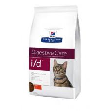 Hills PD Feline I/D лечебный корм для кошек с расcтройствами ЖКТ 0,4 кг