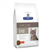 Нills PD Feline L/D лечебный корм для кошек с заболеваниями или снижением функций печени 1,5 кг
