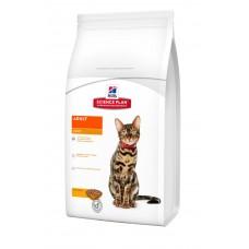 Hills SP Feline Adult Light лечебный корм для поддержания веса взрослых кошек с курицей 0,3 кг