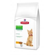Hills SP Kitten Healthy Development сухой кормдля поддержания иммунитета и здоровья пищеварения у котят с курицей 1,5 кг