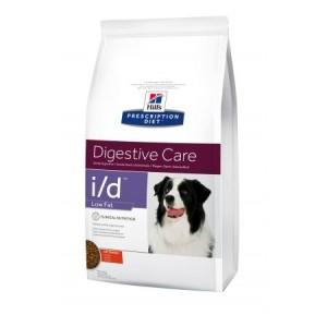 Hills PD Canine I/D Low Fat лечебный корм для профилактики заболеваний ЖКТ и снижения веса у взрослых собак 12 кг