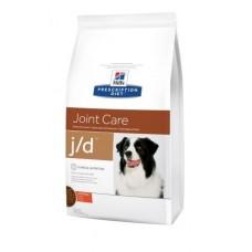 Hills PD Canine J/D лечебный корм для снижения боли и замедления развития артритов у собак  12 кг