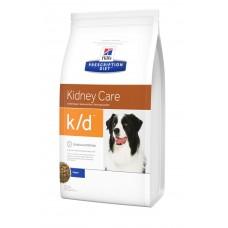 Hills PD Canine K/D лечебный корм для лечения заболеваний почек и сердечной недостаточности у собак 12 кг