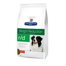 Hills PD Canine R/D лечебный корм для собак с избыточным весом 12 кг