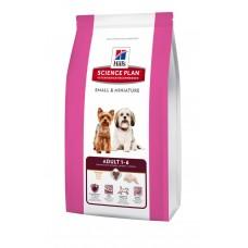 Hills SP Canine Adult Small & Miniature сухой корм для собак мелких пород с курицей и индейкой 1,5 кг