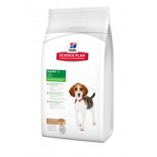 Hills SP Puppy Healthy Development сухой корм для щенков средних пород с ягненком и рисом 1 кг