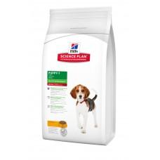 Hills SP Puppy Healthy Development Medium сухой корм для щенков средних пород с курицей 12 кг