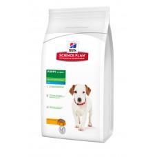 Hills SP Puppy Healthy Development Mini сухой корм для щенков мелких пород с курицей 1,5 кг.