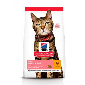 Hills SP Feline Adult Light лікувальний корм для підтримки ваги дорослих котів з куркою 1,5 кг