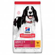 Hills SP Canine Adult Advanced Fitness Medium сухой корм для собак средних пород с курицей 14 кг